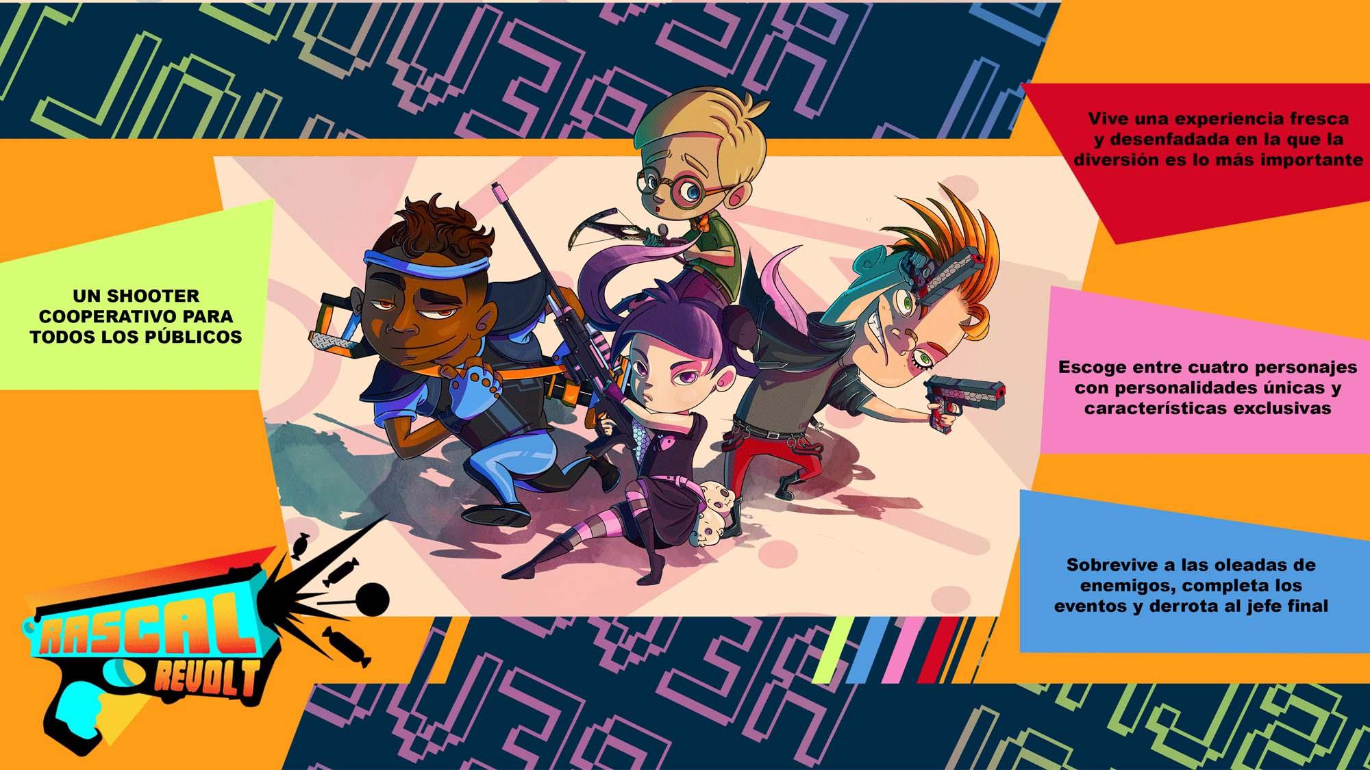 U-tad Seamantis Games arte