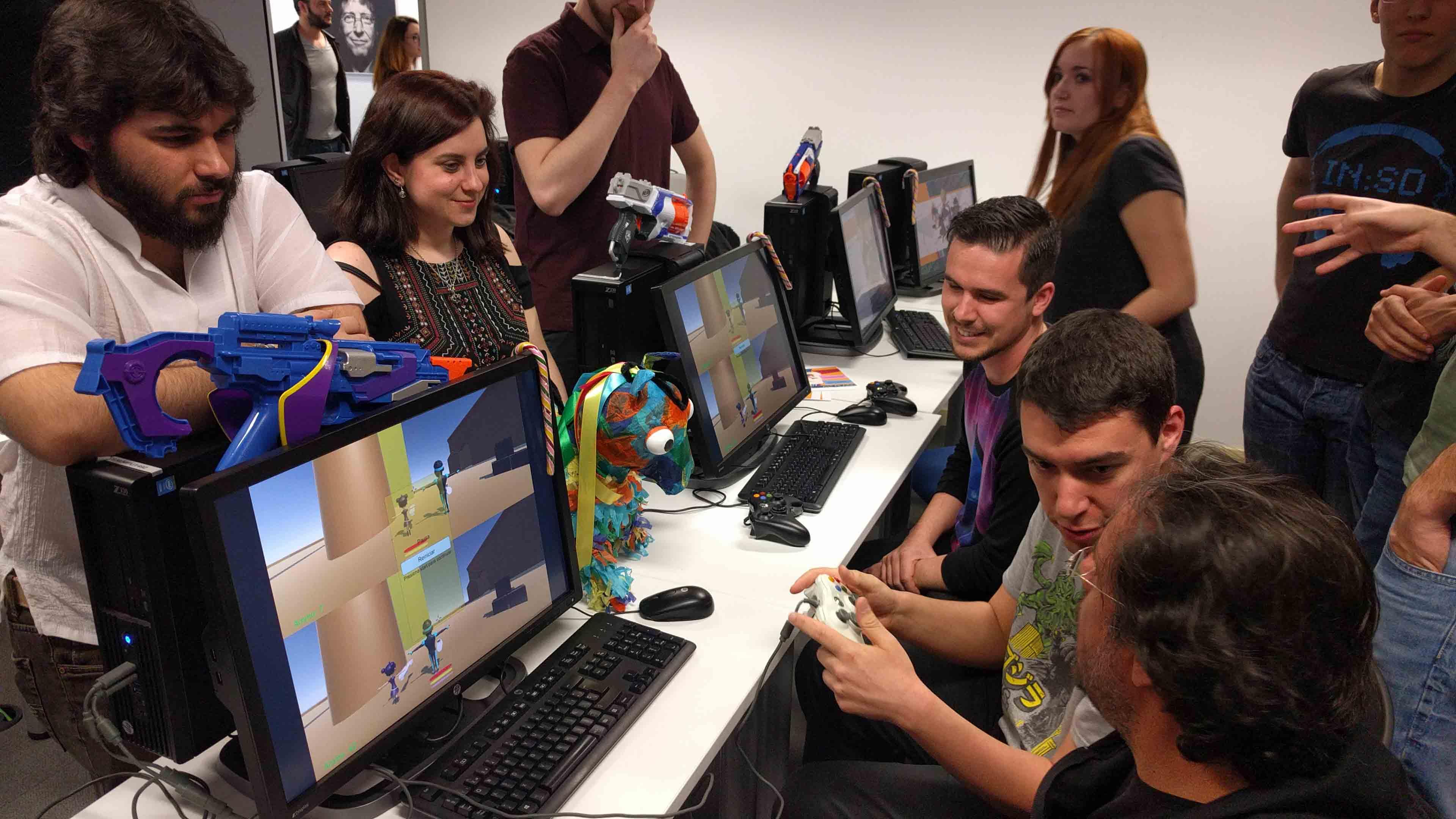 U-tad Seamantis Games foto de juego