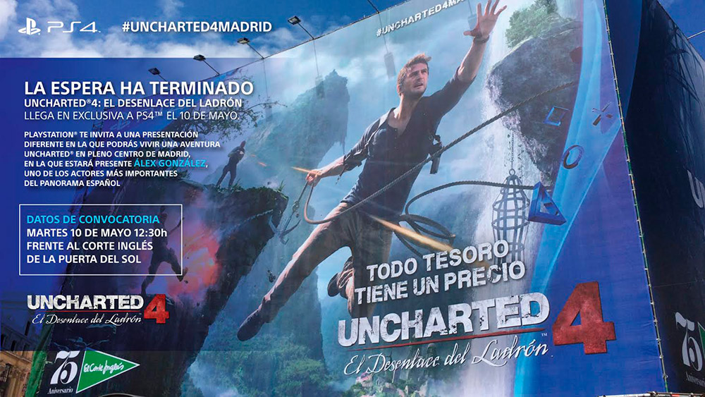 Uncharted 4 - Evento Madrid