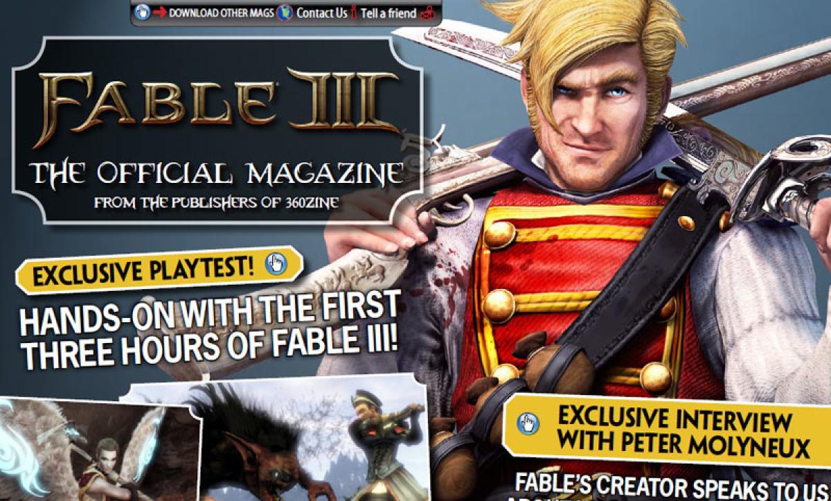 Descarga La Revista Oficial De Fable III
