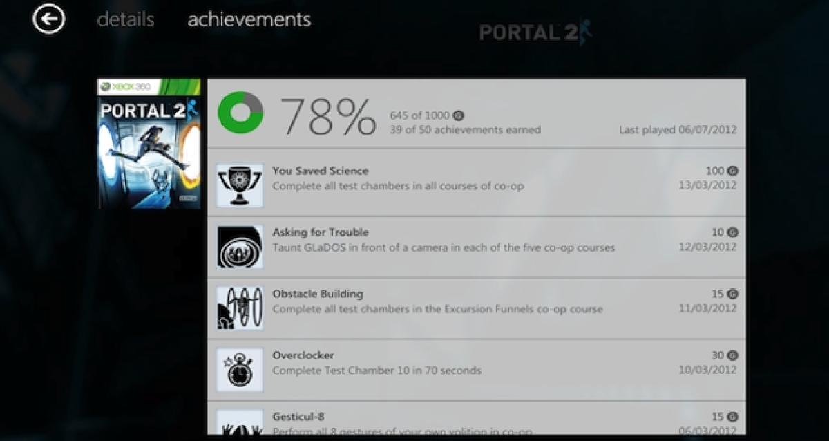 Los logros de Xbox 360 servirán para algo - HobbyConsolas ...