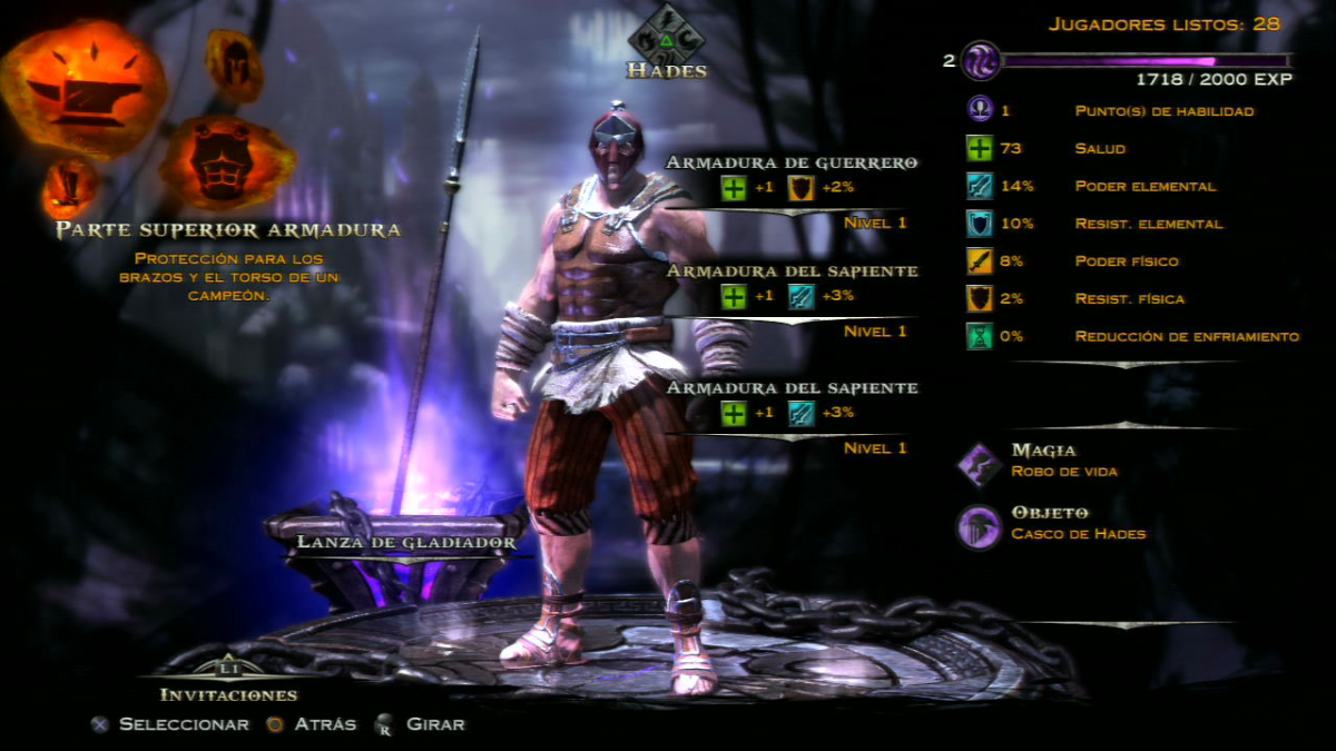 God of War Ascension multijugador