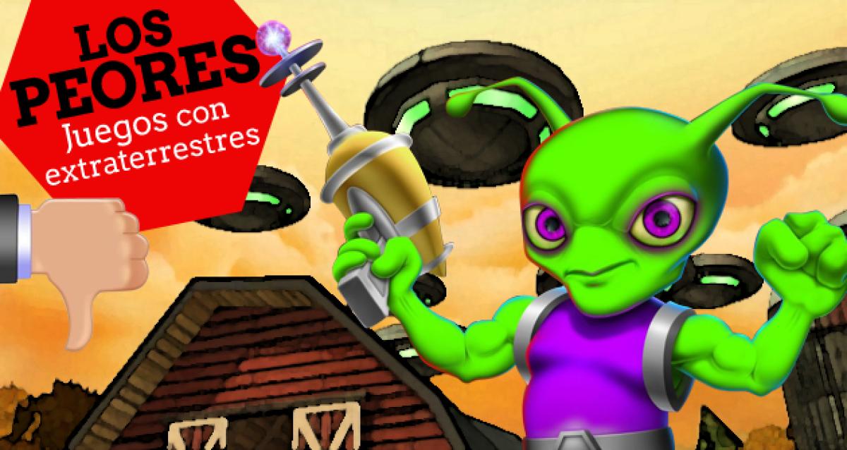 Los 10 Peores Juegos Con Extraterrestres Los 10 Peores De Los Videojuegos Hobbyconsolas Juegos