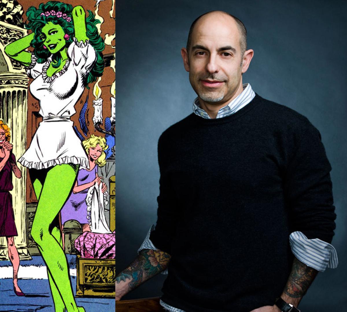 Cabreada Porn david goyer, guionista de batman v superman, compara a hulka