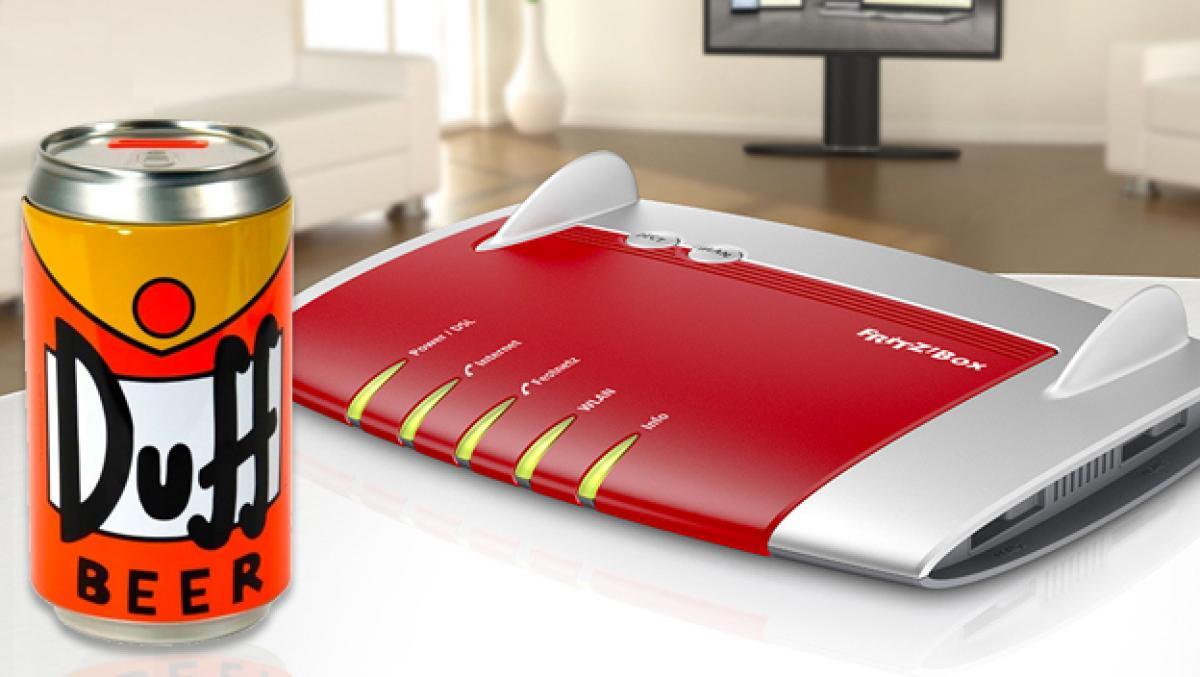 Cómo amplía la señal de tu router WiFi... ¡con una lata de cerveza!