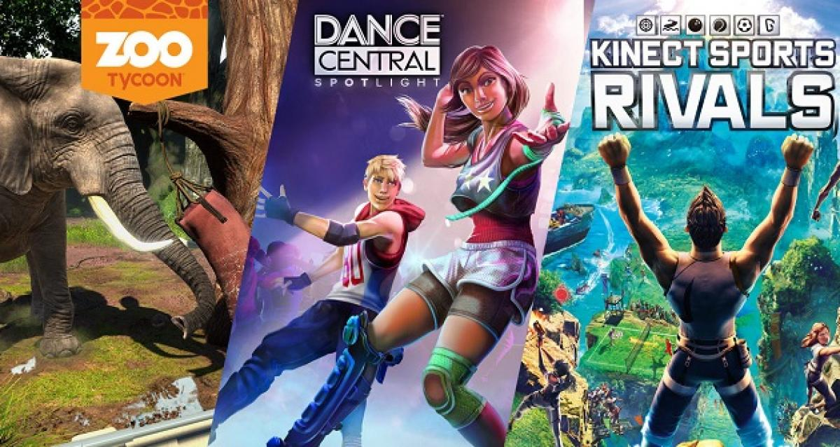 Pack de Xbox One + Kinect + Kinect Sports Rivals + Dance Central Spotlight + Zoo Tycoon ...