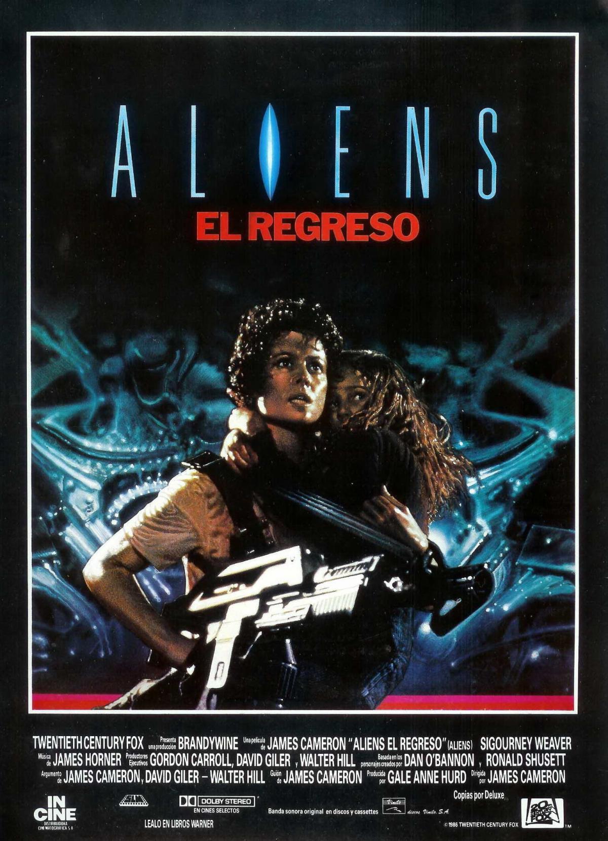 1986. CINE Aliens-regreso