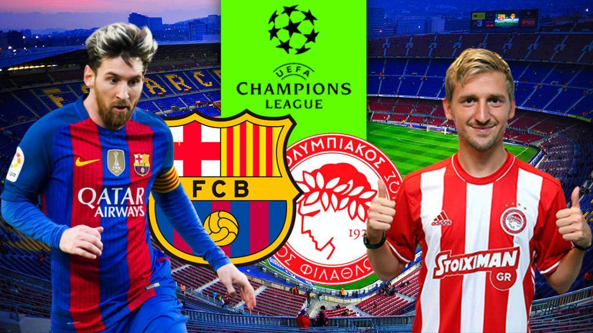 Barcelona Vs Olympiakos