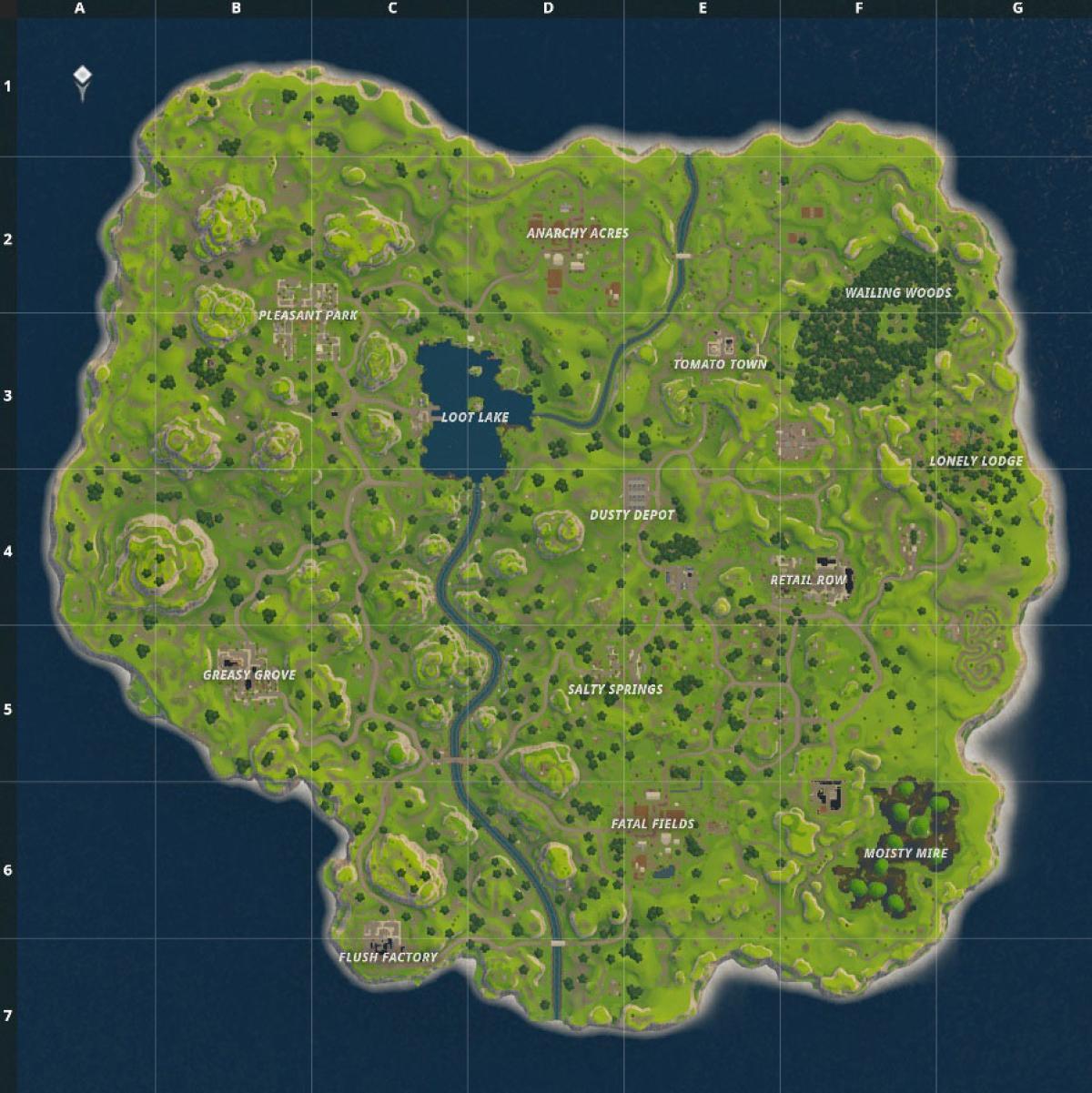 Mejores Lugares Para Aterrizar En Fortnite Battle Royale Guías Y Trucos En Hobbyconsolas Juegos