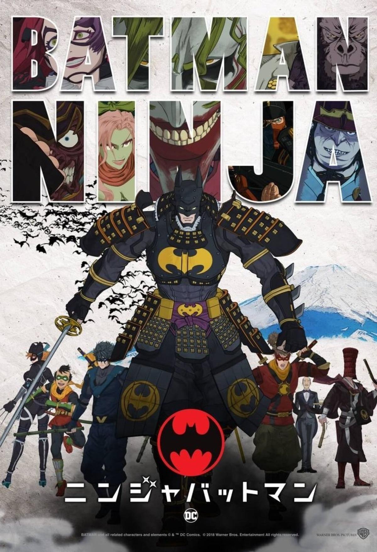 Batman Ninja (2018): Críticas, noticias, novedades y opiniones ...