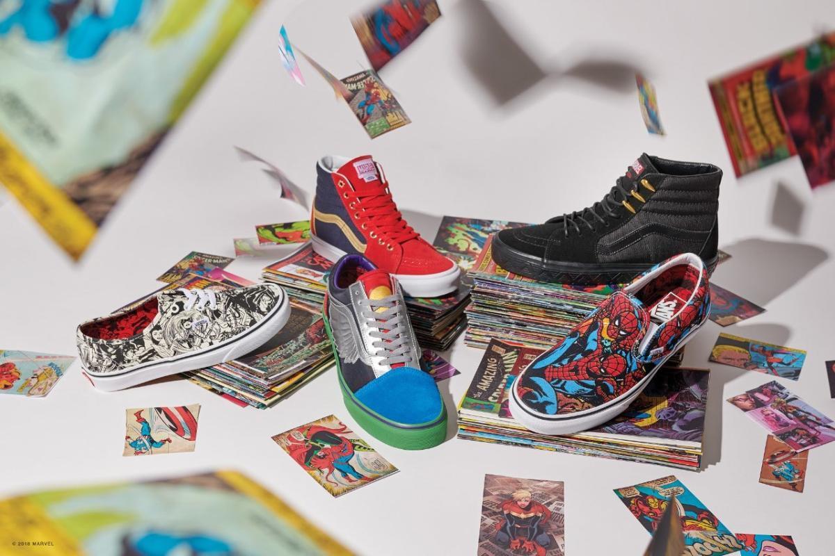 Marvel y Vans lanzan una nueva colección de ropa y complementos ...