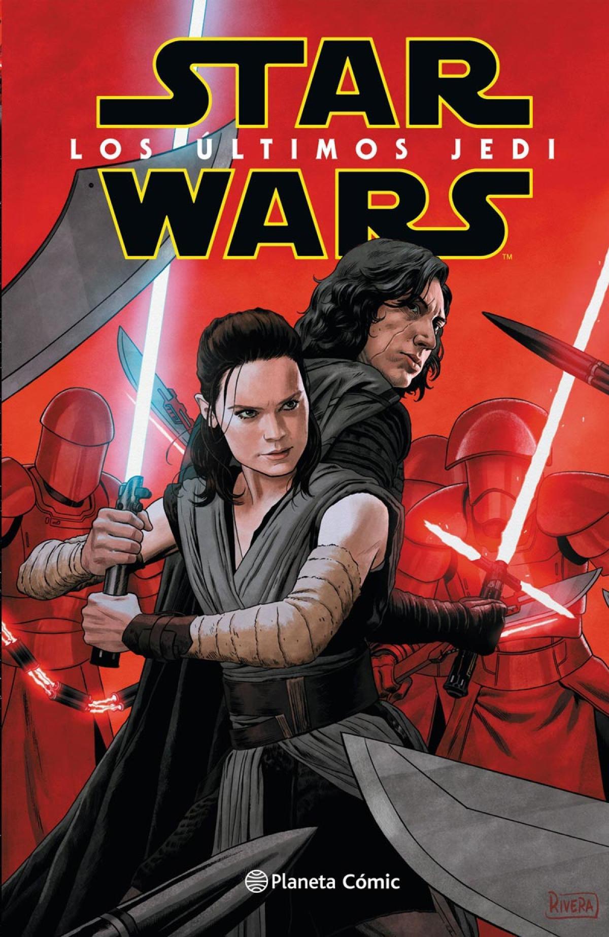 Reseña de Star Wars: Los últimos Jedi - El cómic de la película - HobbyConsolas Entretenimiento