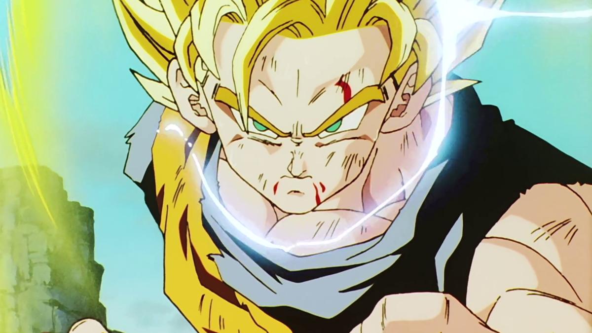 Dragon Ball Z - Goku. Super saiyajin fase 2