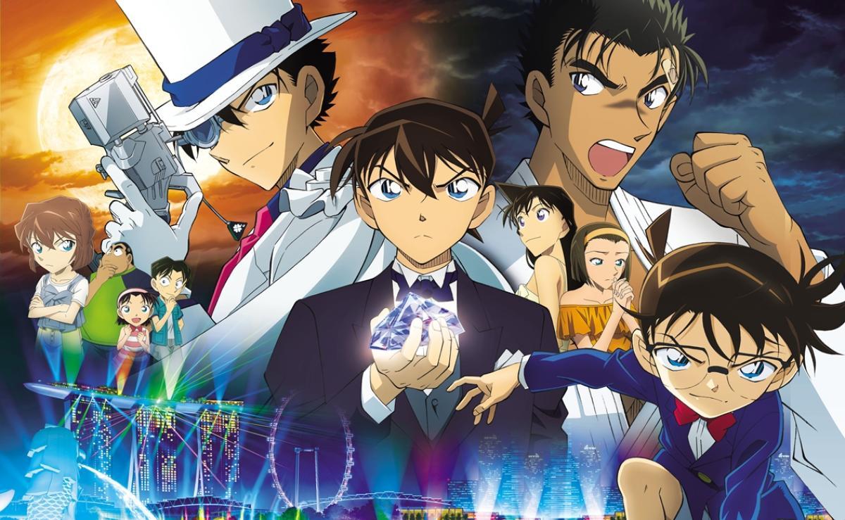 Crítica de la película Detective Conan: El Puño de Zafiro Azul -  HobbyConsolas Entretenimiento