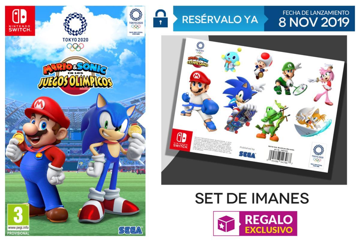 Consigue Un Set De Imanes Al Reservar Mario Sonic En Los Juegos Olímpicos Tokio 2020 En Game Hobbyconsolas Juegos