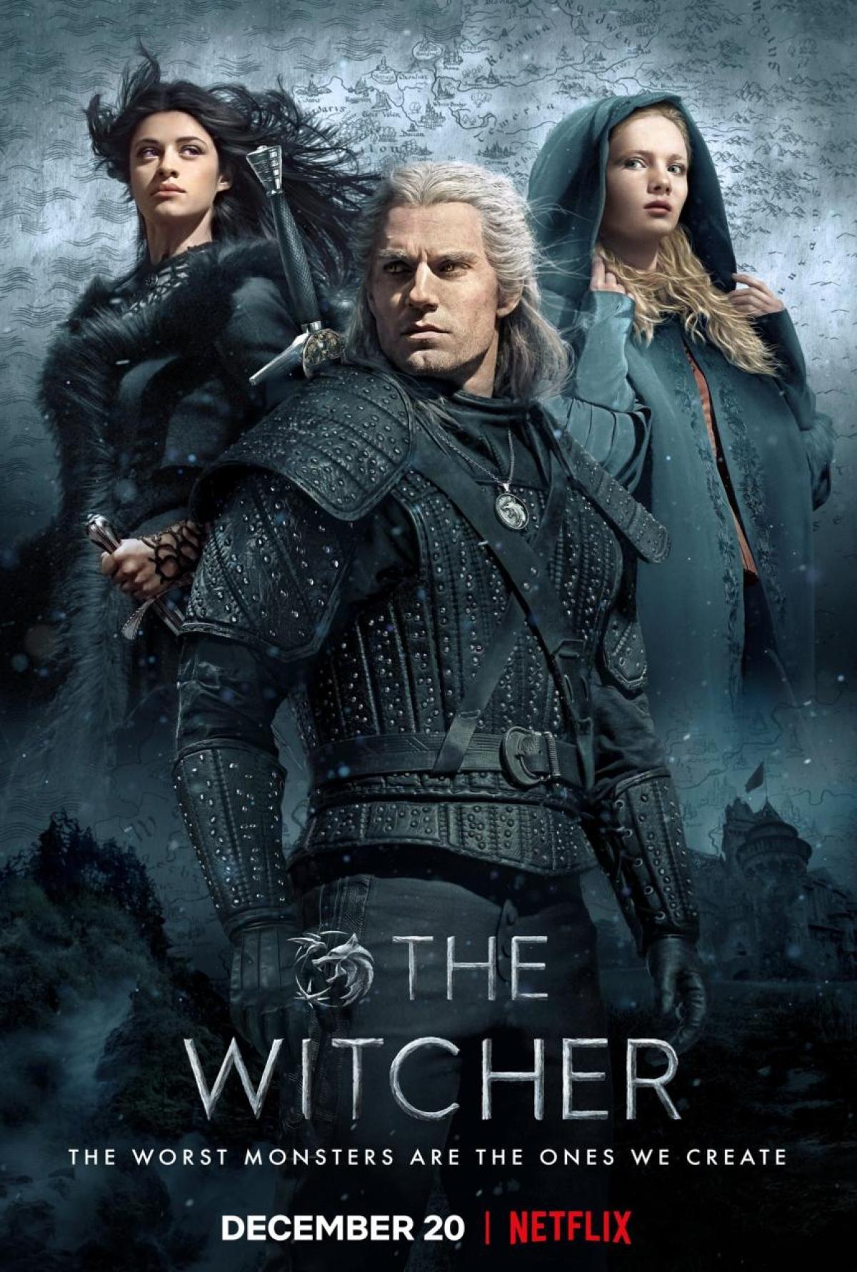"Resultado de imagen de poster the witcher netflix"""