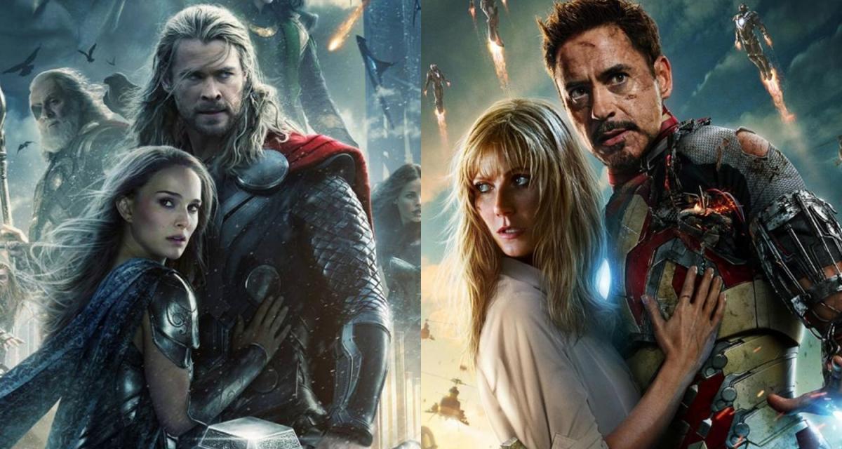 La discusión de los fans sobre si Thor 2 o Iron Man 3 son las peores películas de Marvel