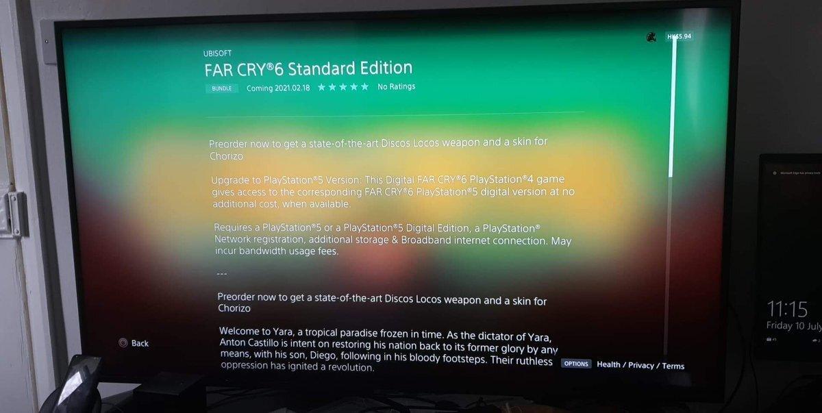 Primeros detalles de Far Cry 6 aparecen en PS Store: se confirma ...