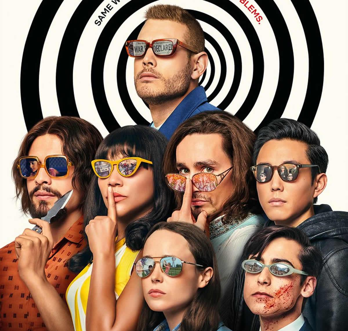 Nuevo póster de la temporada 2 de The Umbrella Academy