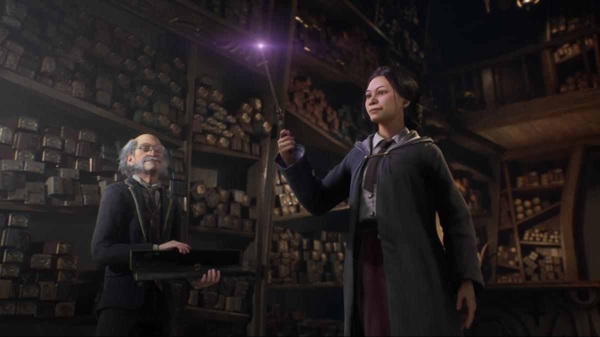 lanzamiento hogwarts legacy jugar