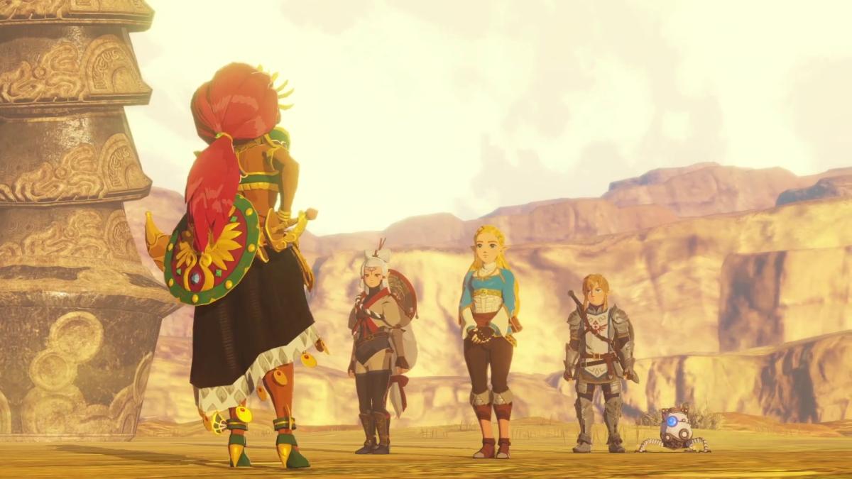 Gameplay y multitud de detalles de Hyrule Warriors: La Era del Cataclismo: mapa, inventario, Kologs...
