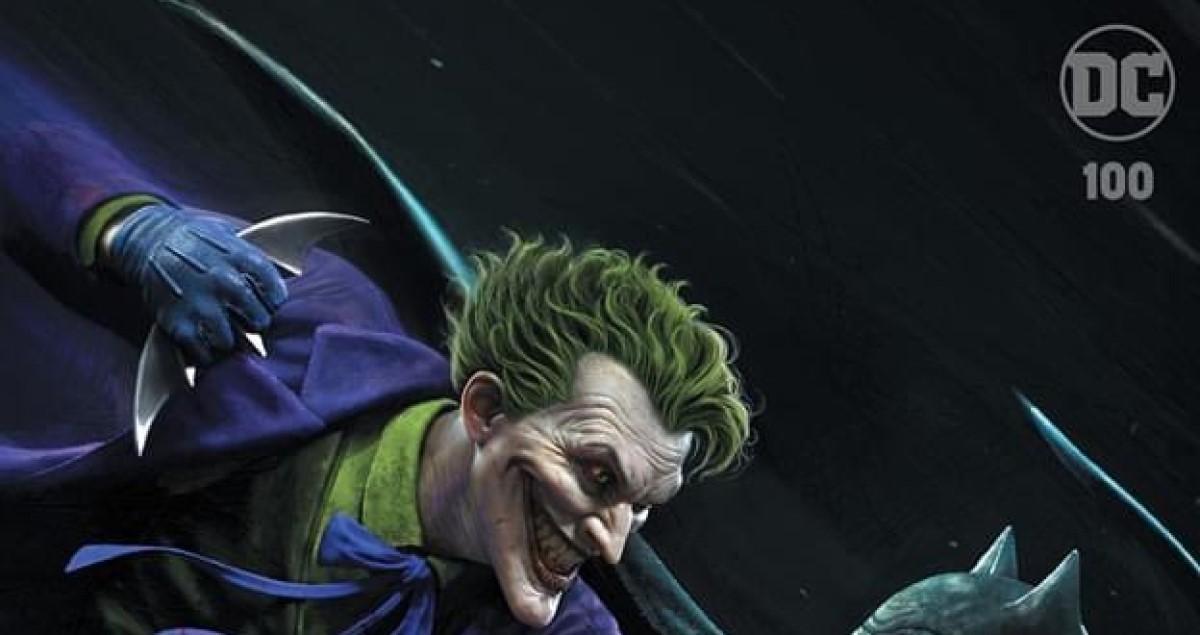 El director de arte de God of War crea una espectacular portada alternativa para el comic Joker nº 100
