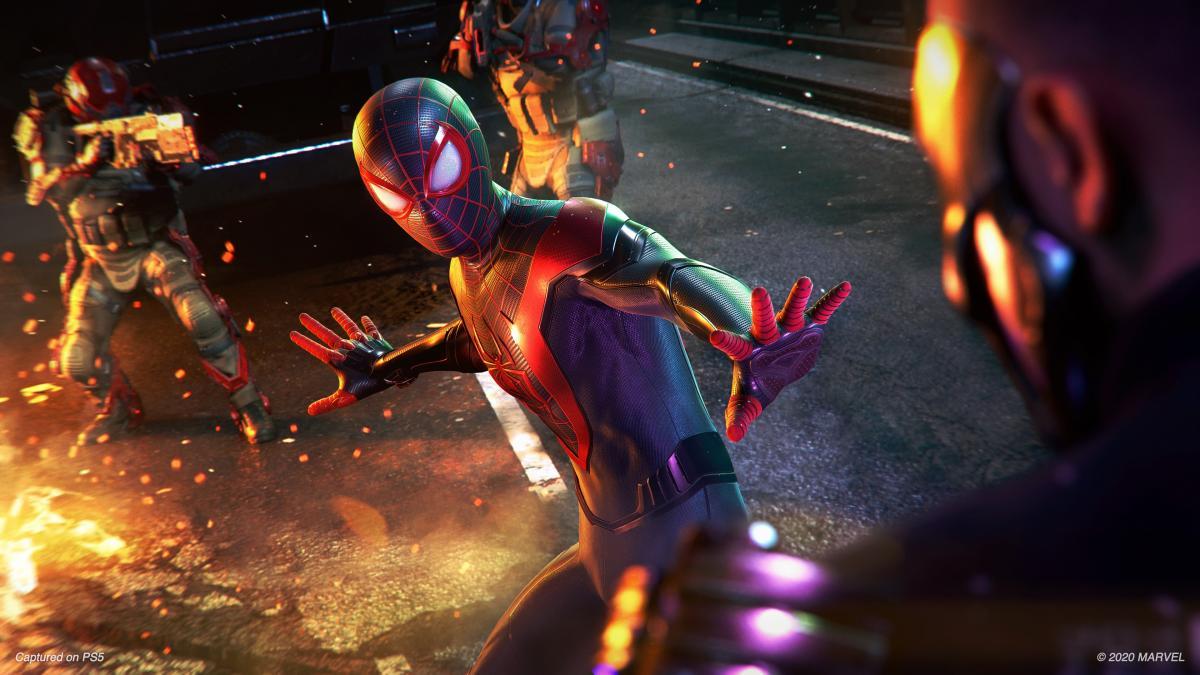 Marvel's Spider-Man Miles Morales tendrá dos trajes por incentivos de  reserva en PS5; revelado uno de ellos - HobbyConsolas Juegos