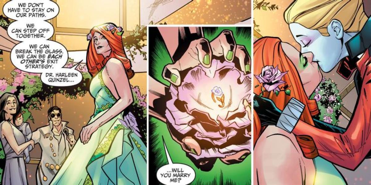 Harley Quinn y Poison Ivy se han casado oficialmente en los cómics de  Injustice - Personajes LGBT+ de los cómics