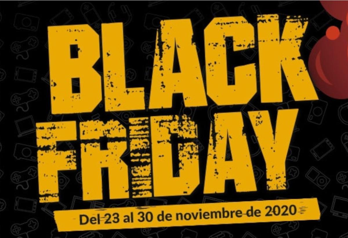 Comienza el Black Friday en GAME con descuentos en consolas, juegos, cine, merchandising, PC gaming...