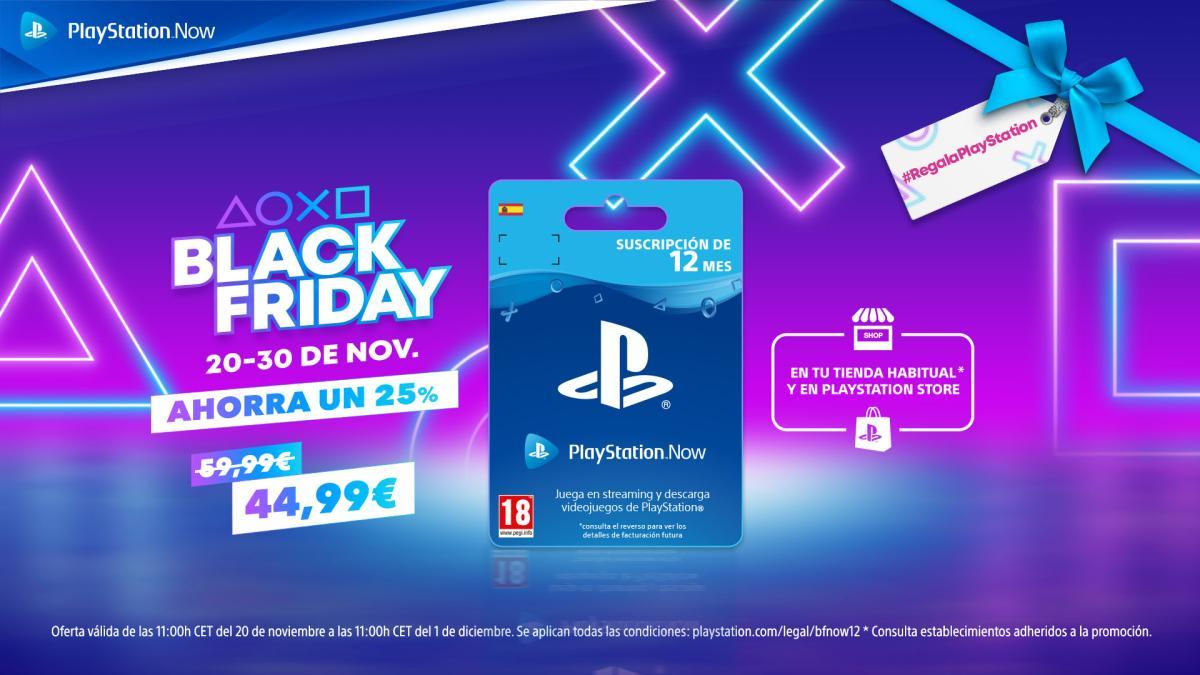 PS Now: cientos de juegos disponibles al instante, ahora con grandes rebajas en el Black Friday