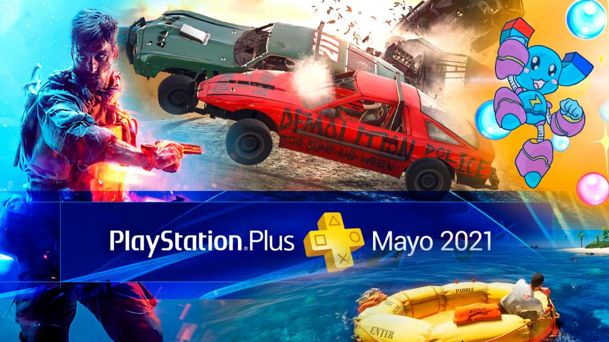 Free PS Plus Games in May 2021
