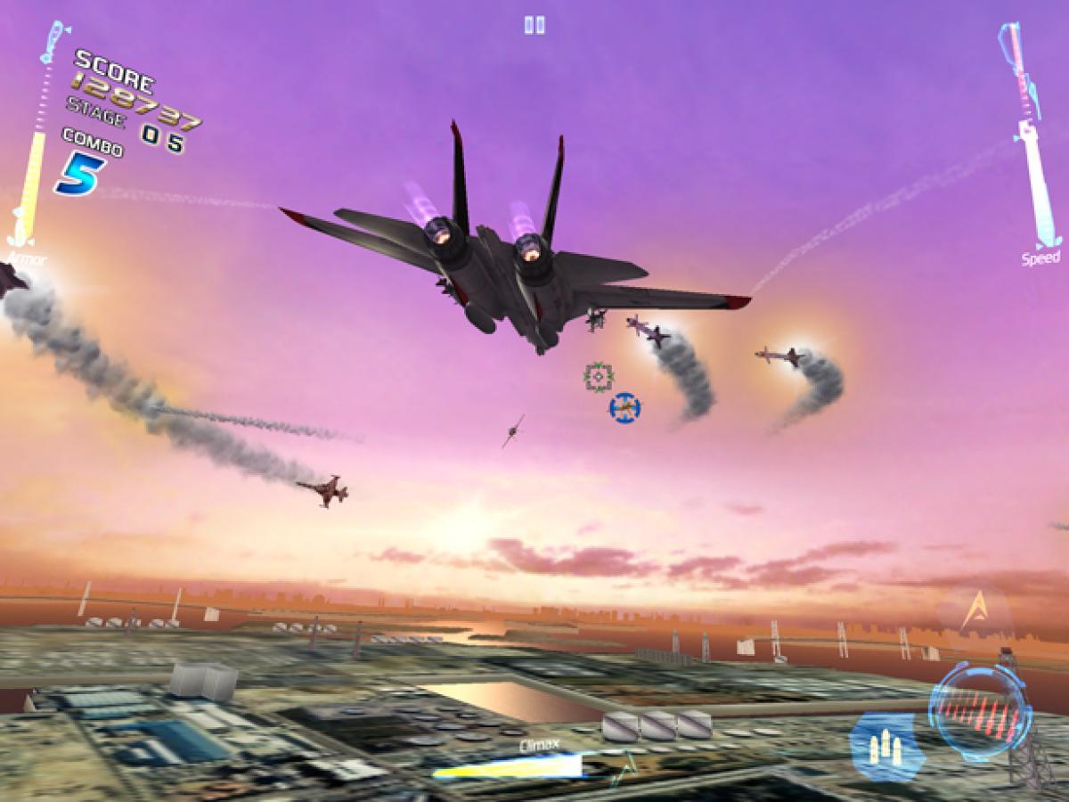 Análisis de After Burner Climax para iOS - HobbyConsolas Juegos