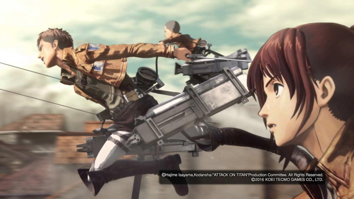 Ataque a los Titanes Wings of Freedom - Análisis para PS4 y