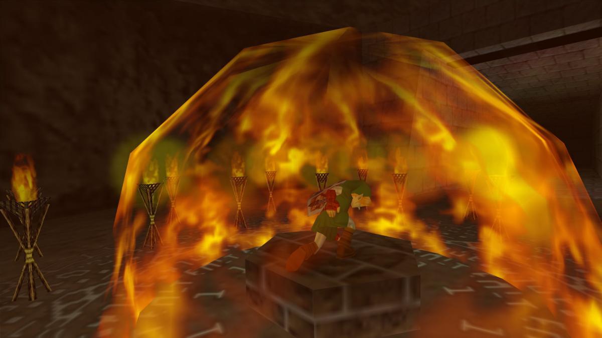Análisis de The Legend of Zelda Ocarina of Time para Nintendo 64