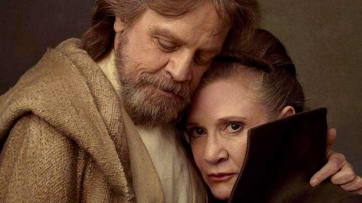 Star Wars - Mark Hamill quiere cambiar la estrella de Trump en Hollywood por Carrie Fisher