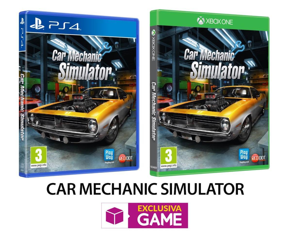Consigue la edición física de Car Mechanic Simulator en GAME