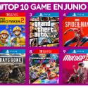 Más vendidos de Junio GAME