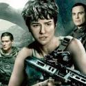 Katherine Waterston, Ridley Scott, Michael Fassbender