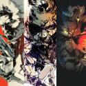 Ilustraciones de Metal Gear por Yoji Shinkawa
