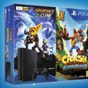 PS4 pack con Crash Bandicoot y Ratchet & Clank
