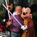 George Lucas, Mickey Mouse, sable laser