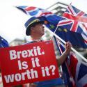 Una manifestación anti Brexit en Londres.