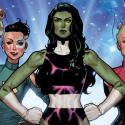 Quiénes deberían estar en la serie solo con superheroínas Marvel