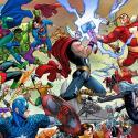 Superhéroes Marvel y DC