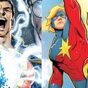 Capitán Marvel y Shazam: Porque ambos héroes se llamaban igual