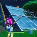 Paneles solares Fortnite