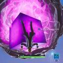 dónde está el cubo brillante en Fortnite temporada 10