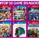 Juegos más vendidos de Agosto 2019