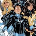 Portada crossover X-Men + 4 Fantásticos