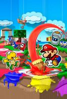 Paper Mario: Color Splash - Carátula